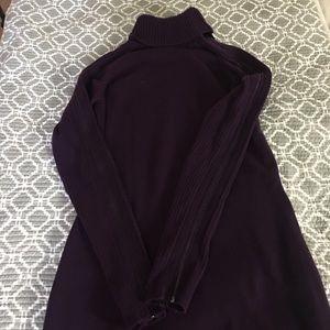 Dark purple dress size L. Laundry by Shelli Segal.